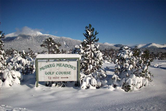 Wrangell Golf Club in the Winter